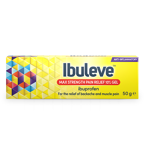Ibuleve Speed Relief Max Strength Gel Pack