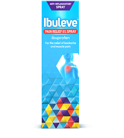 Ibuleve Speed Relief Spray Pack